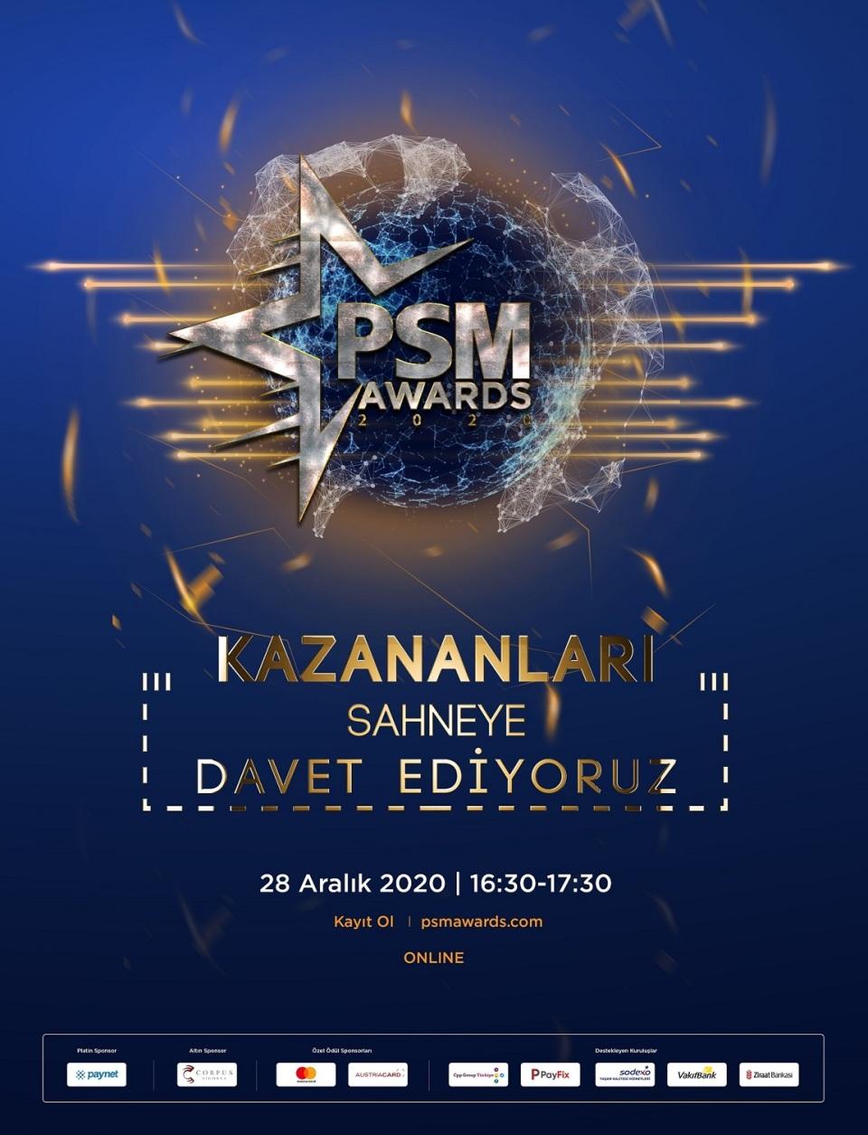 PSM Awards 2020'de yılın en iyileri seçildi.